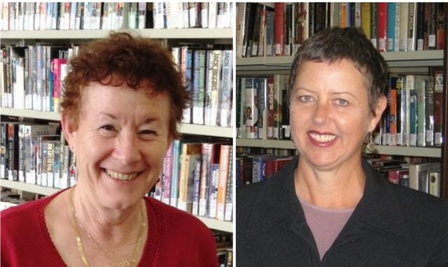 Rose Blustein and Sue Westwood