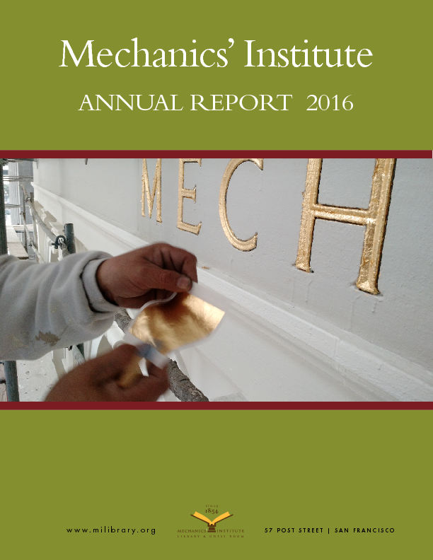 PDF version of the 2016 Annual Report publication