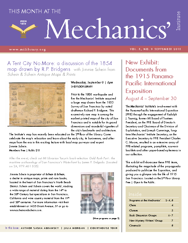 PDF version of theThis Month: September 2015 publication