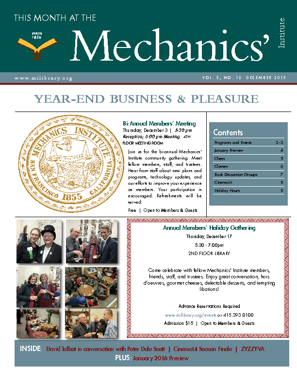 PDF version of theThis Month: December 2015 publication