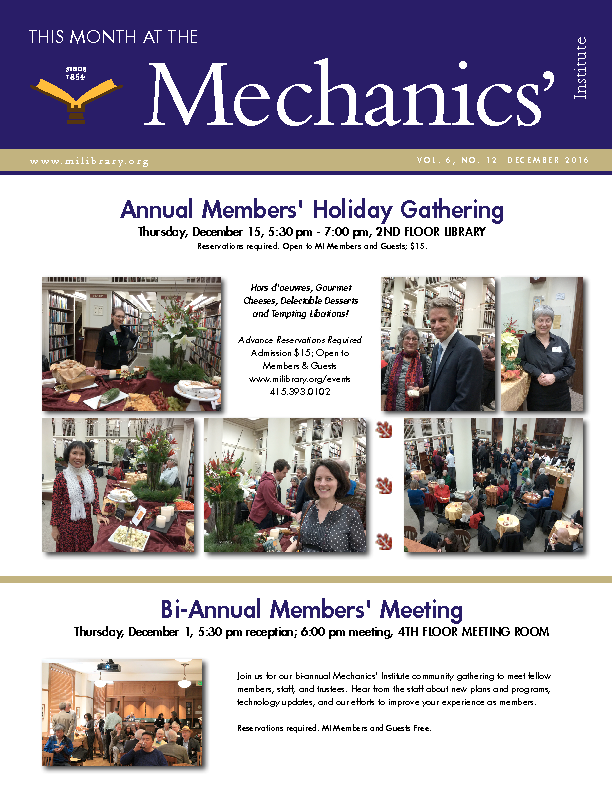 PDF version of theThis Month: December 2016 publication