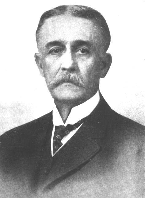 Bust picture of Albert Pissis