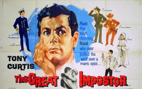 Poster for film The Great Imposter