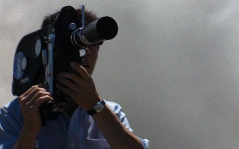 Still image from the film Medium Cool
