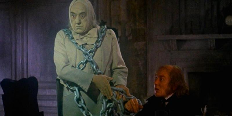 Still image from the film Scrooge (1970)