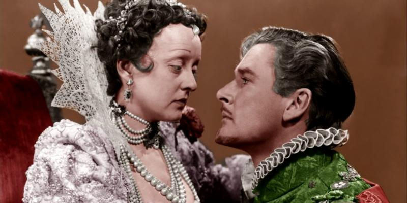 Still image from the film The Private Lives of Elizabeth and Essex