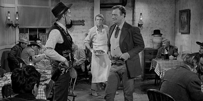 Still image from the film The Man Who Shot Liberty Valance