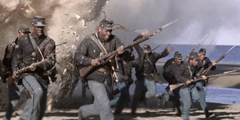 Still image from the film Glory