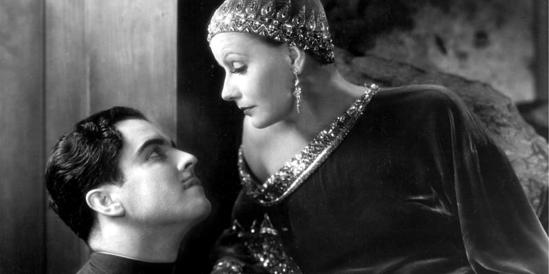 Still image from the film Mata Hari
