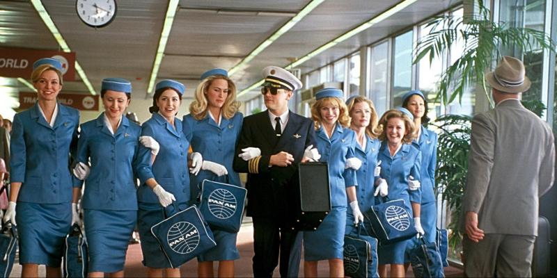 Still image from the film Catch Me If You Can