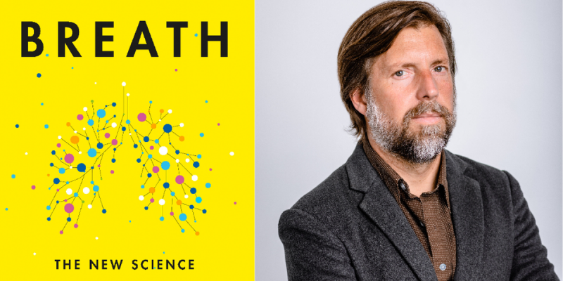 Breath cover and author photo