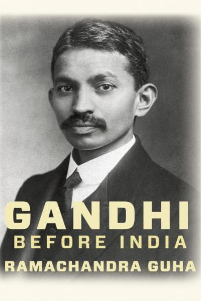 Book cover of Gandhi Before India