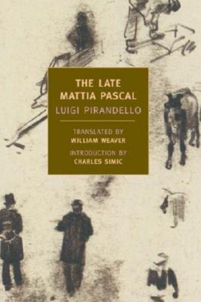 The Late Mattia Pascal book cover
