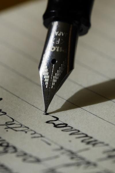 Photograph of a fountain pen