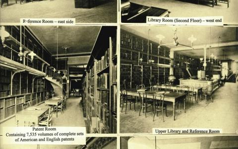 Photographs of the library